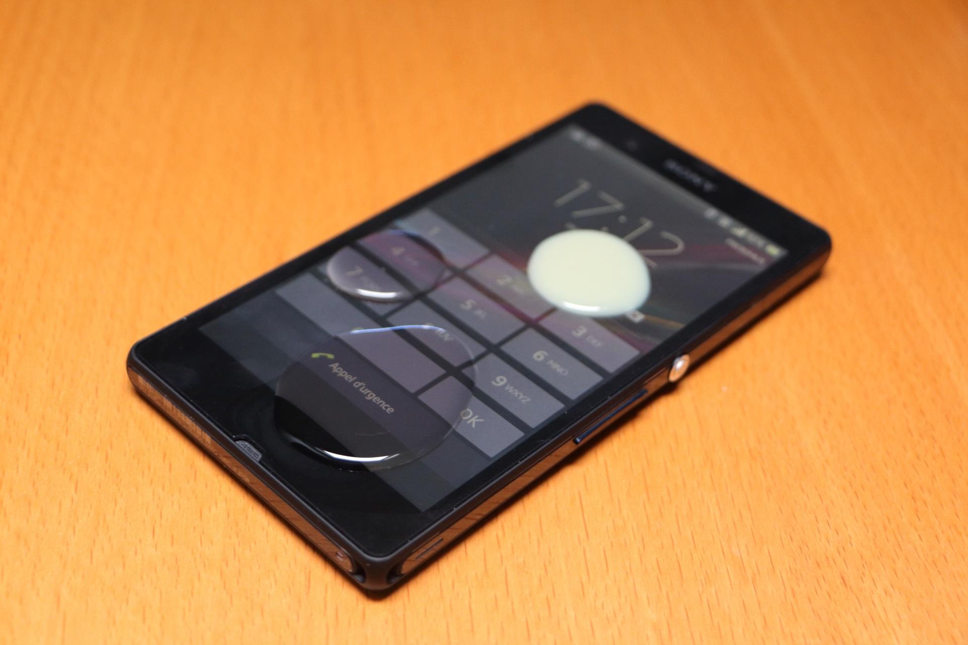 Sony Xperia Z au Peket