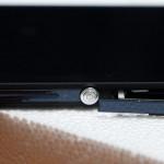 Orifice de la carte sim du Sony Xperia Z