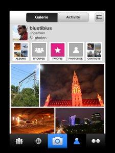 iOS7 - Flickr - iPhone