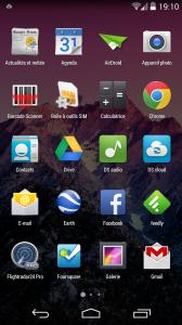 Launcher Android KitKat Nexus 5