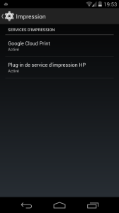 Impression Android KitKat