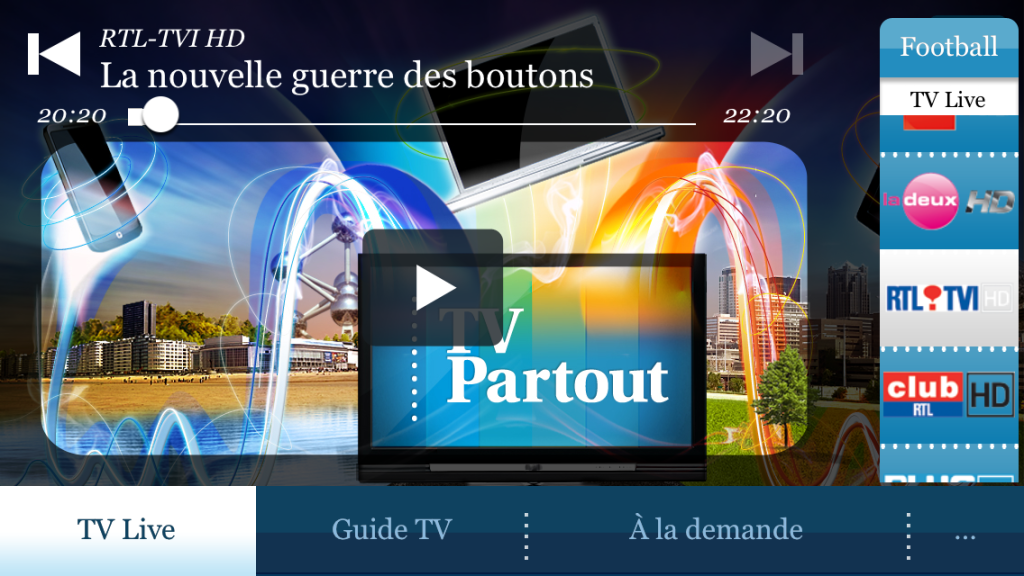 Belgacom TV Replay iOS