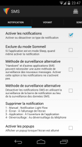 Light Flow Lite SMS Notification