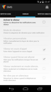 Light Flow Lite SMS Vibreur