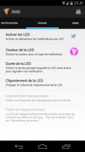 Light Flow Lite SMS Voyant