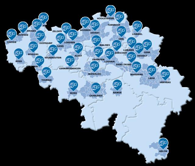 Base Network 4G Février 2014