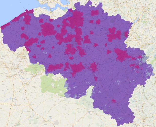 Belgacom Proximus Network 4G Février 2014