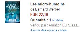 Bernard Werber - Les micro humains - Amazon.fr