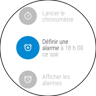 Android-Wear-Montre